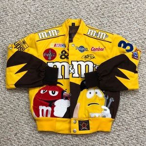 M&M's NASCAR Racing Uniform Jacket #38
